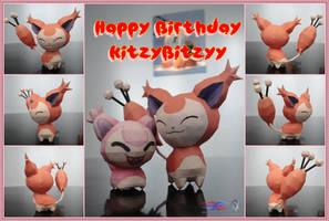 Happy Birthday KitzyBitzyy! \(^u^)/ by BRSpidey