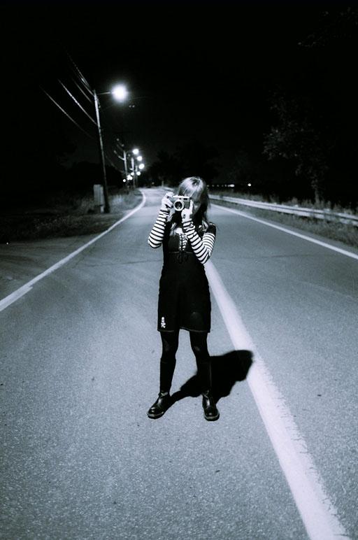 Cloe: Shooting in the dark I by greendice