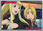 Edward x Winry Stamp by TuxedoMoroboshi
