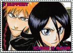 Ichigo x Rukia Stamp by TuxedoMoroboshi