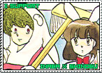 Inaba x Shinobu Stamp 1 by TuxedoMoroboshi