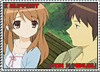Kyon x Mikuru Stamp by TuxedoMoroboshi