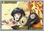 Naruto x Hinata Stamp by TuxedoMoroboshi