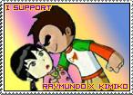 Raymundo x Kimiko Stamp by TuxedoMoroboshi