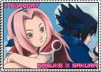 Sasuke x Sakura Stamp by TuxedoMoroboshi
