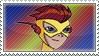 Kid Flash Stamp by TuxedoMoroboshi