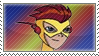 Kid Flash Stamp by TuxedoMoroboshi