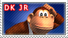 Donkey Kong Jr. Stamp by TuxedoMoroboshi