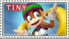 Tiny Kong Stamp by TuxedoMoroboshi