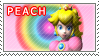 Princess Peach Stamp