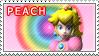 Princess Peach Stamp by TuxedoMoroboshi