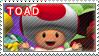 Toad Stamp by TuxedoMoroboshi