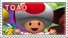 Toad Stamp by TuxedoMoroboshi
