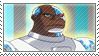 Cyborg Stamp by TuxedoMoroboshi