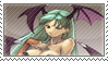 Morrigan Aensland Stamp by TuxedoMoroboshi