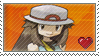 Female Pokemon Trainer Stamp by TuxedoMoroboshi