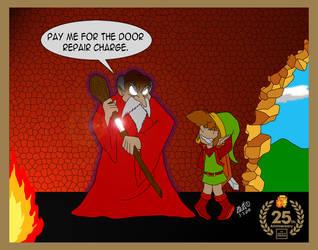 Happy 25th to Legend of Zelda by TuxedoMoroboshi