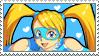 Rainbow Mika Stamp