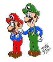 The Bros by TuxedoMoroboshi