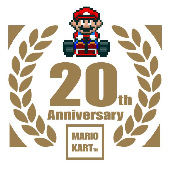Mario kart 20th anniversary logo by tuxedomoroboshi on deviantart mario kart 20th anniversary logo by tuxedomoroboshi altavistaventures Image collections