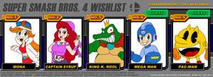 Super Smash Bros 4 Wishlist Meme