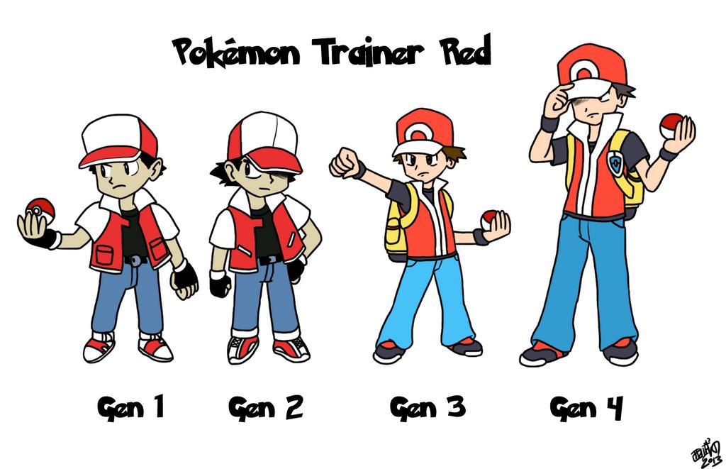 Red Pokemon Sprite | www.imgkid.com - The Image Kid Has It!