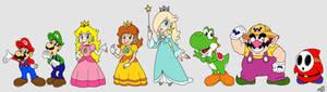 Random Mario Line-Up