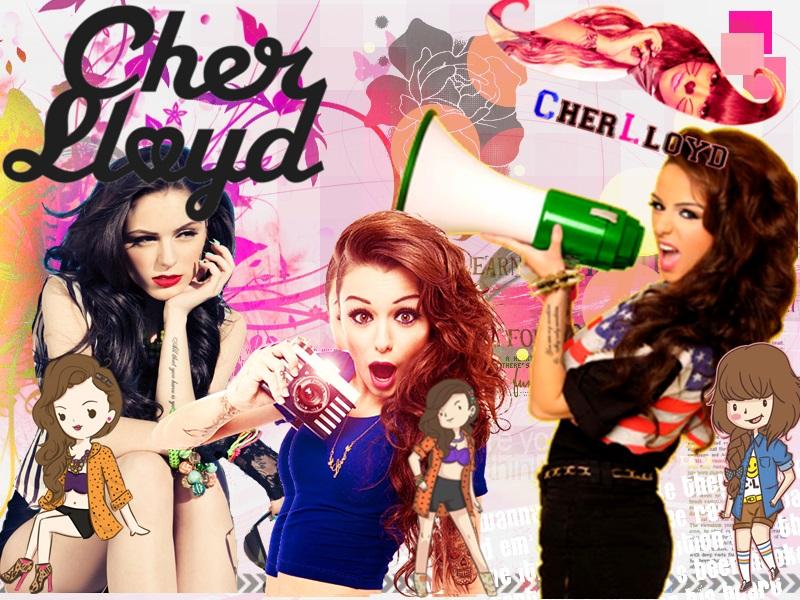 cherd lloyd by phimbella1234