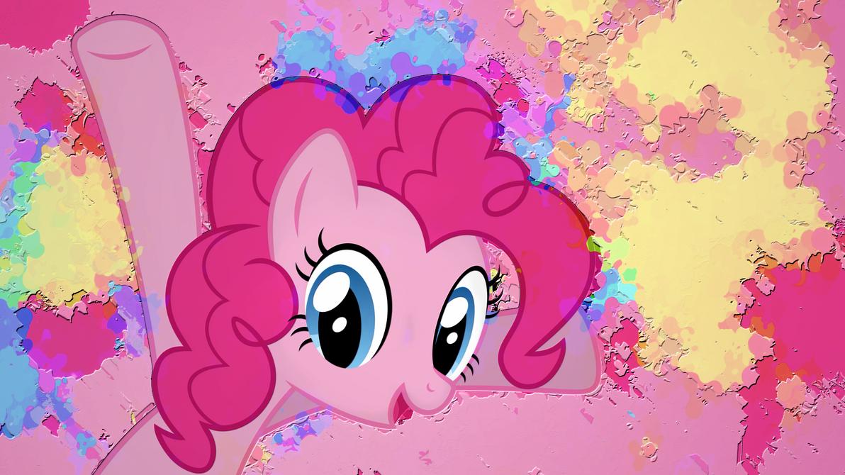 Pinkie Pie Hue Overflow Wallpaper by Chadbeats
