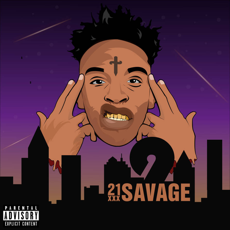 21 savage album cover by finelinegfx on deviantart 21 savage album cover by finelinegfx on
