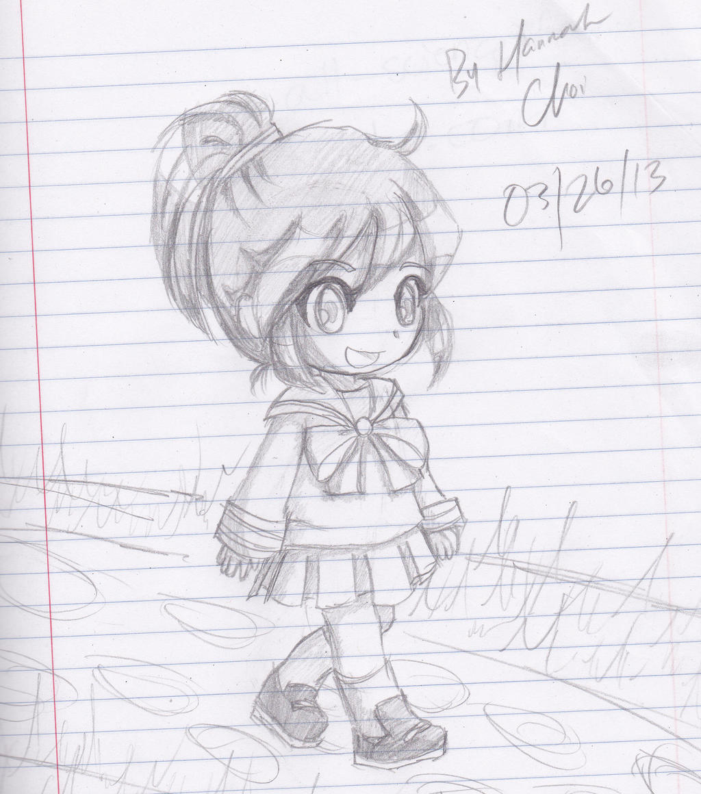 TransformiceGurl Manga For The Beginners Chibi EditionGirl Walking By