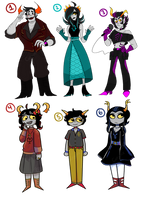 fantroll collab adopts! [ OTA | OPEN | 3/6 ] by MillenniaFortuna