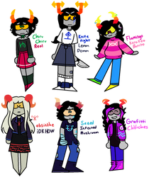 song-based fantroll adopts [ NYP | 3/6 OPEN ] by MillenniaFortuna