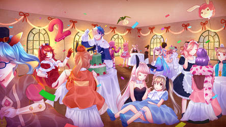 Anniversary Party by Arcelle