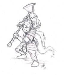 Lady Kima of Vord, Paladin of Bahamut