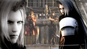 Sephiroth wallpaper by ManDaReena