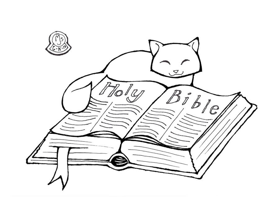 Bible coloring page by lupas deva on deviantart for Read and share bible coloring pages