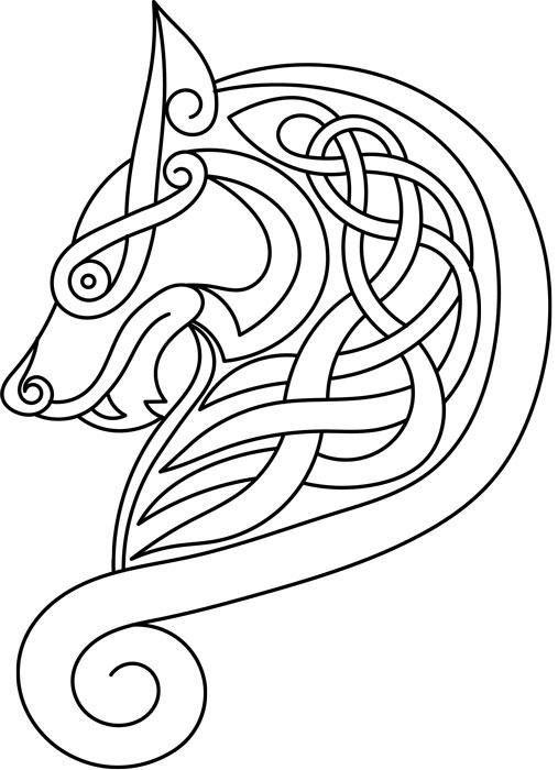 wolf celtic