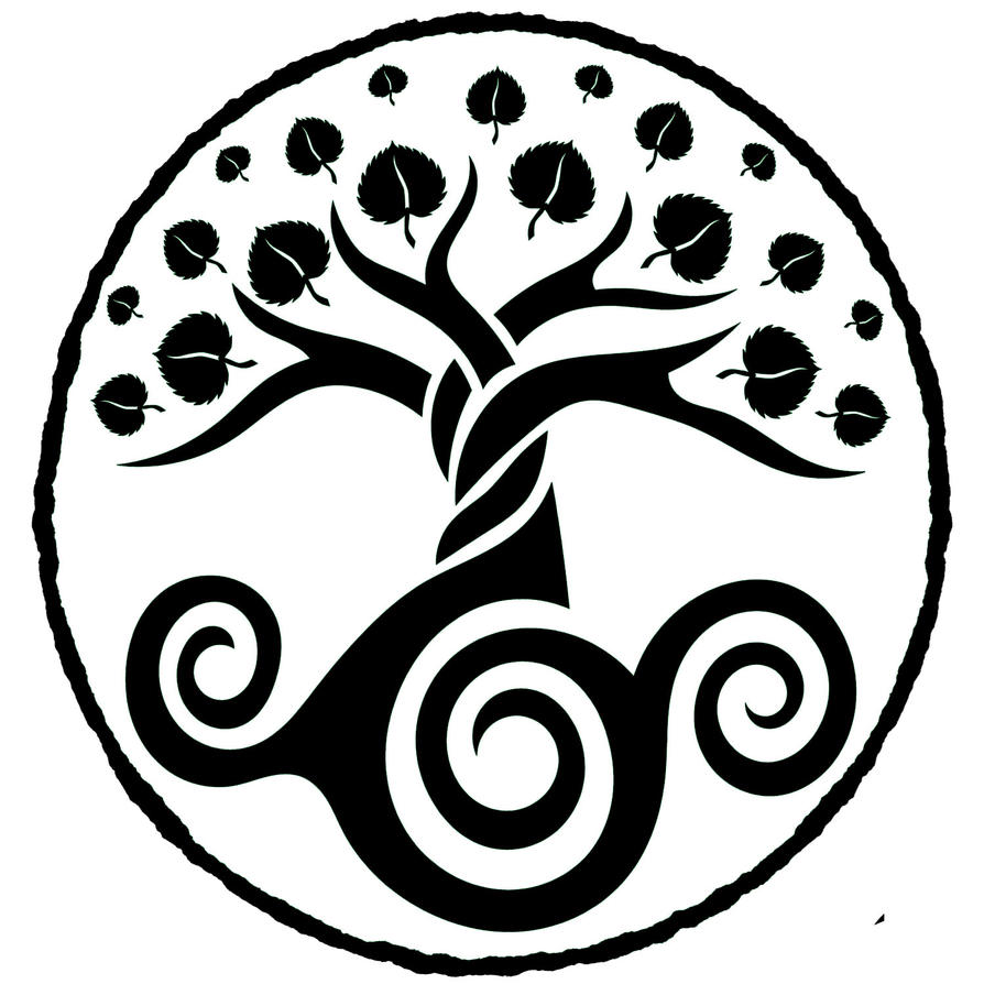 Logo Greentree Studios Black and White by Lupas-Deva