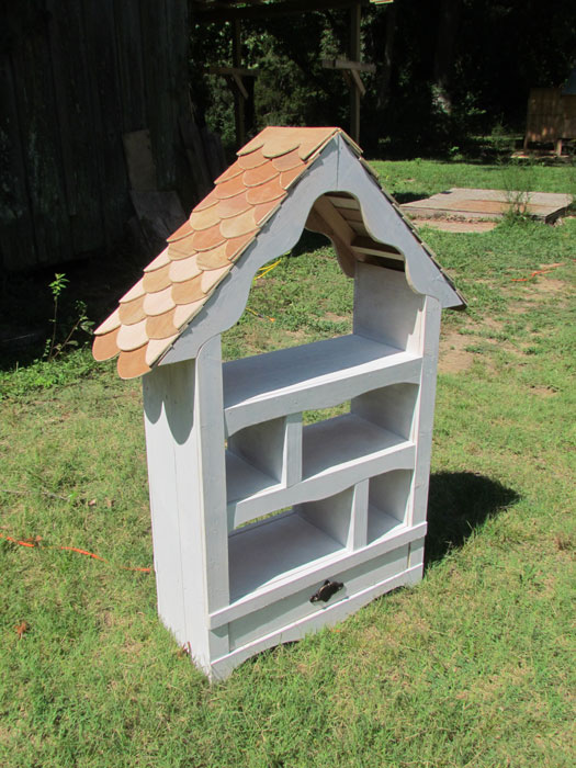 Open Face Dollhouse Bookshelf By Lupas Deva