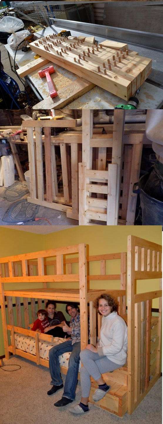 Twin over Twin Rohan Bunk Bed by Lupas-Deva