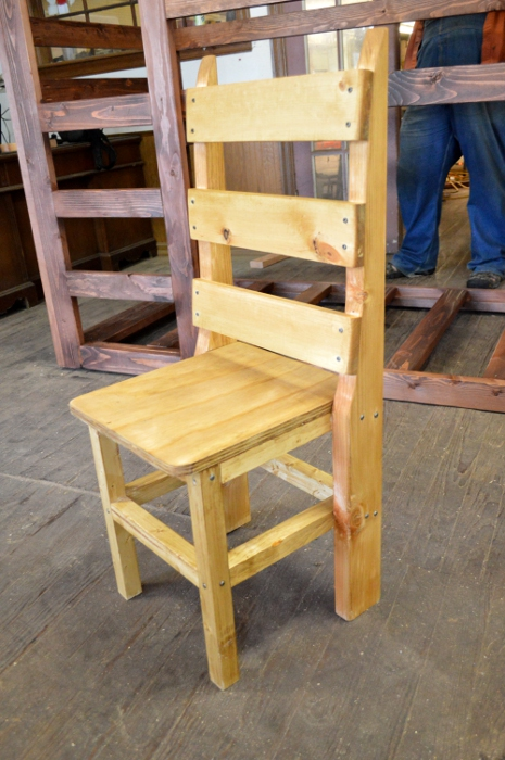 Child's Chair by Lupas-Deva