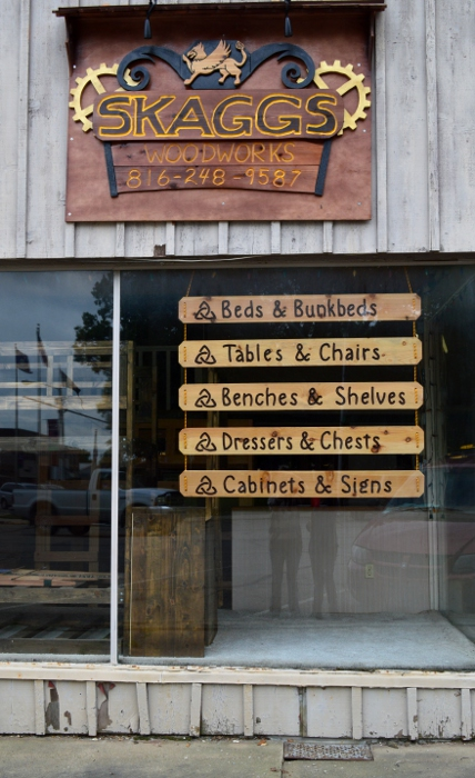 Skaggs Woodworks Custom Signage by Lupas-Deva