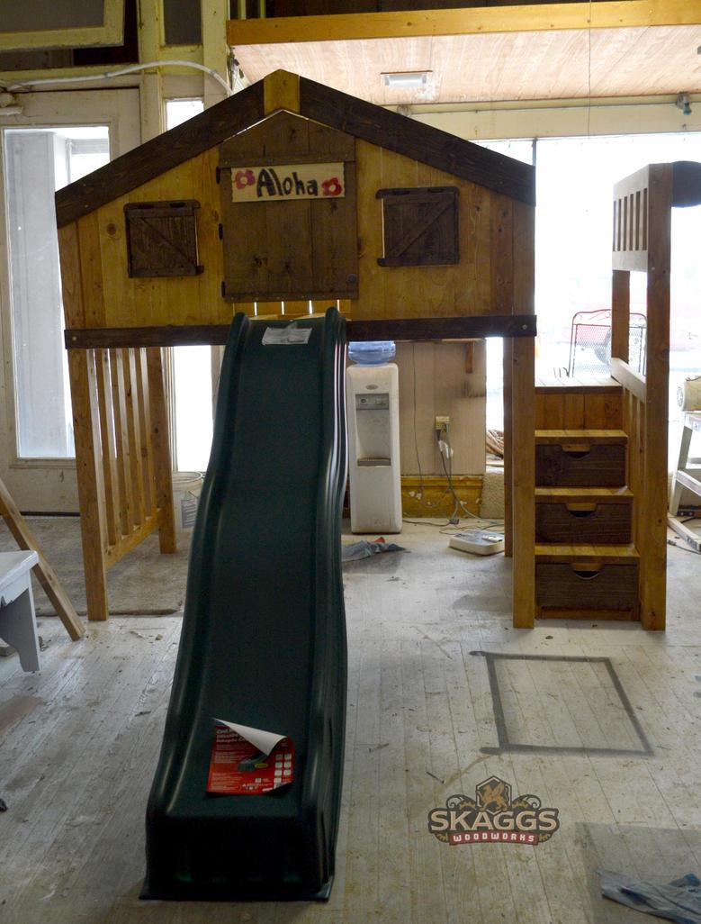 Do It Yourself Home Design: Clubhouse Loft W/ Slide By Lupas-Deva On DeviantArt