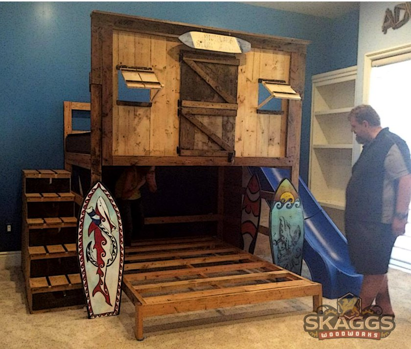 Do It Yourself Home Design: Surf Shack Clubhouse Bed By Lupas-Deva On DeviantArt