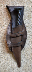Leather Sheath by Lupas-Deva