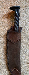 Leather Knife Sheath by Lupas-Deva