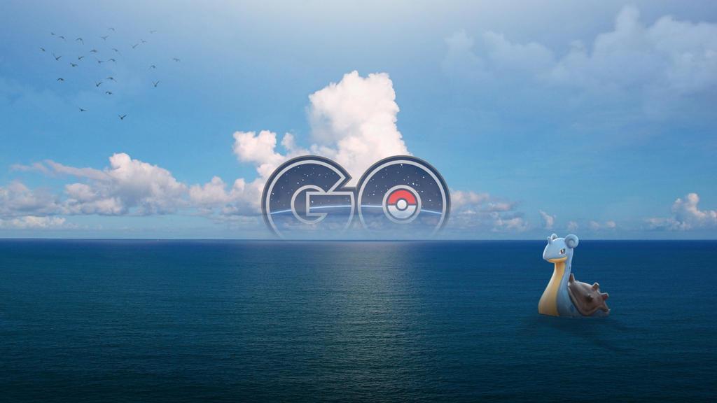 Lapras Pokemon Go WALLPAPER By Timtimio