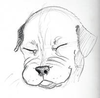 10 Min Dog 48 by TiredOrangeCat