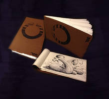 Plush and Blood : Soft cover sketchbook by TiredOrangeCat